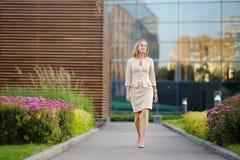 Mujer de negocios hermosa joven foto de archivo