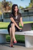 Mujer de negocios hispánica atractiva imagen de archivo libre de regalías