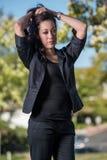 Mujer de negocios hispánica atractiva foto de archivo libre de regalías