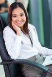 Mujer de negocios india foto de archivo