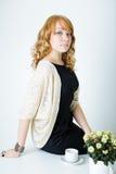 Mujer de negocios joven Imagenes de archivo