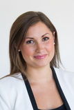 Mujer de negocios joven atractiva Fotografía de archivo libre de regalías