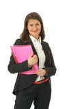 Mujer de negocios joven sonriente Foto de archivo