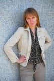 Mujer de negocios moderna Imagenes de archivo