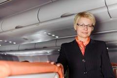 Mujer de negocios rubia Imágenes de archivo libres de regalías