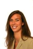 Mujer de negocios sonriente imagenes de archivo