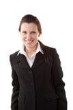 Mujer de negocios sonriente. Fotos de archivo libres de regalías