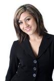 Mujer de negocios sonriente Imagen de archivo libre de regalías