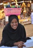 Mujer de Nubian Imagen de archivo