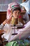 Mujer de Padaung, Myanmar Imágenes de archivo libres de regalías