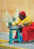 Mujer de Palenquera Fotografía de archivo