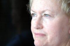 Mujer de pensamiento Fotos de archivo libres de regalías