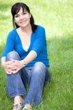 Mujer de relajación Foto de archivo