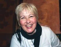Mujer de risa Foto de archivo
