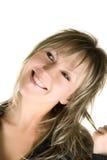 Mujer de risa bonita Foto de archivo