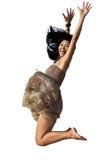 Mujer de salto Foto de archivo