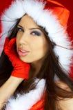 Mujer de Santas imagen de archivo libre de regalías