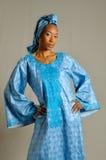 Mujer de Senegal foto de archivo libre de regalías