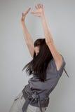 Mujer del bailarín Imagen de archivo libre de regalías