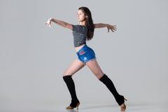 Mujer del bailarín del Latino Fotografía de archivo libre de regalías