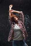 Mujer del baile Imagen de archivo libre de regalías