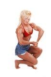 Mujer del Bodybuilding. Imagenes de archivo