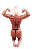 Mujer del Bodybuilding. Fotografía de archivo