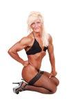 Mujer del Bodybuilding. Foto de archivo