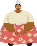 Mujer del Caribe stock de ilustración