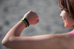 Mujer del deporte de la salud fotografía de archivo