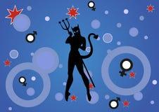 Mujer del diablo libre illustration