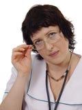 Mujer del doctor foto de archivo libre de regalías