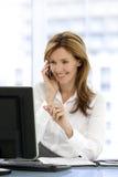 Mujer del ejecutivo de operaciones Foto de archivo