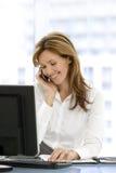 Mujer del ejecutivo de operaciones Imagenes de archivo
