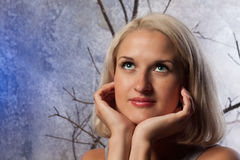 Mujer del embarazo Imágenes de archivo libres de regalías