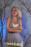 Mujer del embarazo Foto de archivo