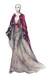 Mujer del encanto Imagenes de archivo