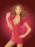 Mujer del encanto libre illustration