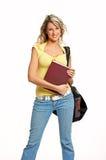 Mujer del estudiante foto de archivo libre de regalías