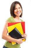 Mujer del estudiante. Foto de archivo