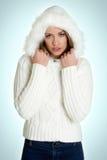 Mujer del invierno Fotos de archivo libres de regalías