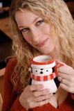 Mujer del invierno Imagen de archivo libre de regalías