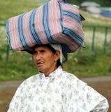 Mujer del Kashmiri Foto de archivo