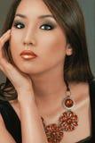 Mujer del maquillaje de la manera Fotografía de archivo libre de regalías