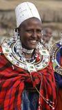 Mujer del Masai Fotografía de archivo libre de regalías
