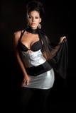 Mujer del modelo de manera foto de archivo libre de regalías