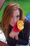 Mujer del otoño Imagenes de archivo