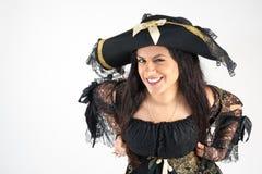 Mujer del pirata imagen de archivo libre de regalías
