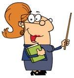 Mujer del profesor stock de ilustración