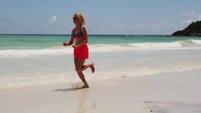 Mujer del puente de Seychelles metrajes